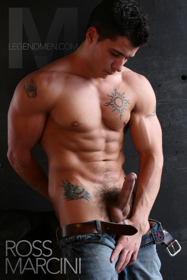 Naked muscle men