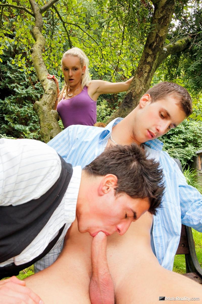 Fuck gay outdoor Gay public